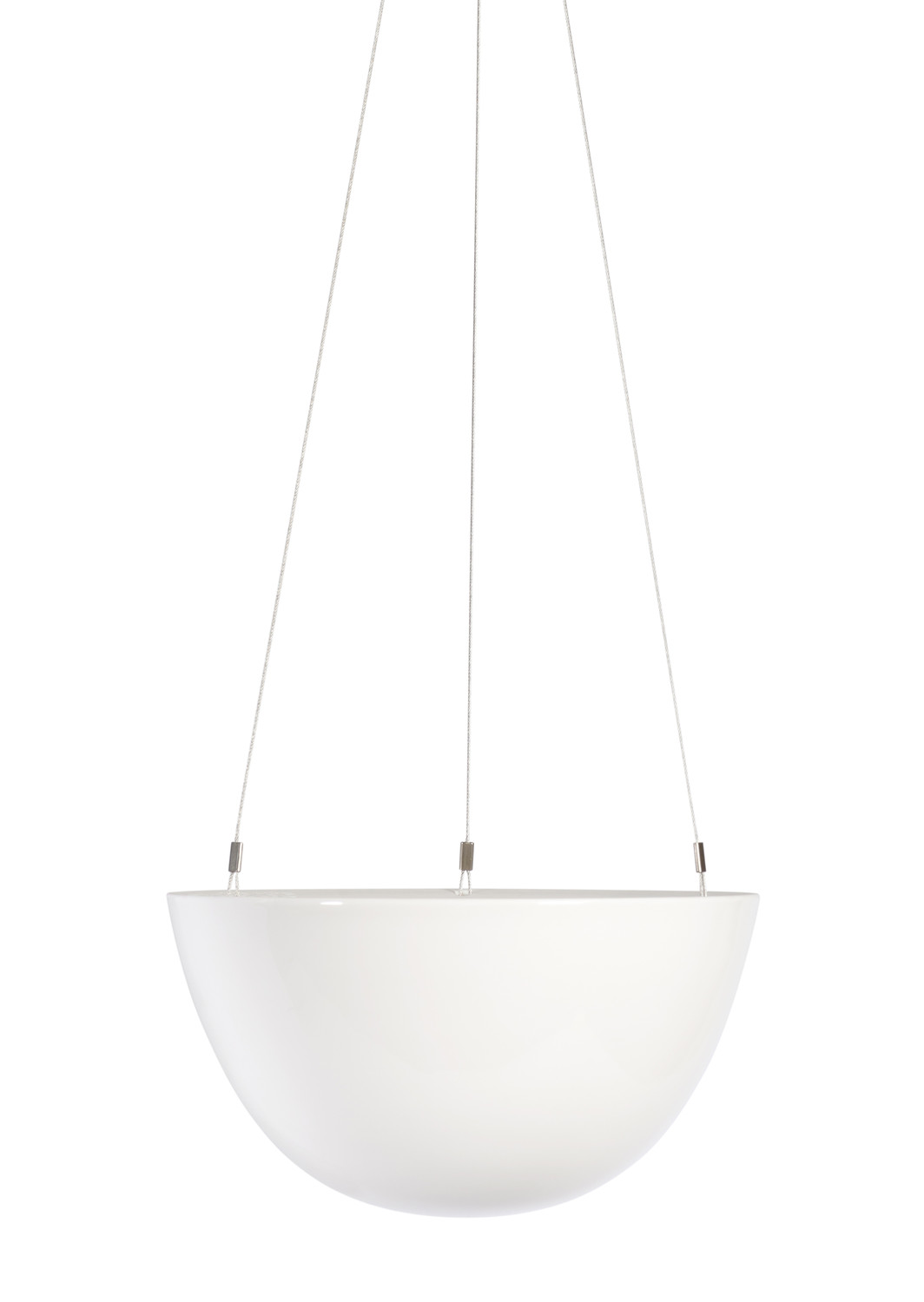 White Hanging Planter Medium