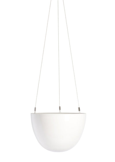 White Hanging Planter Small