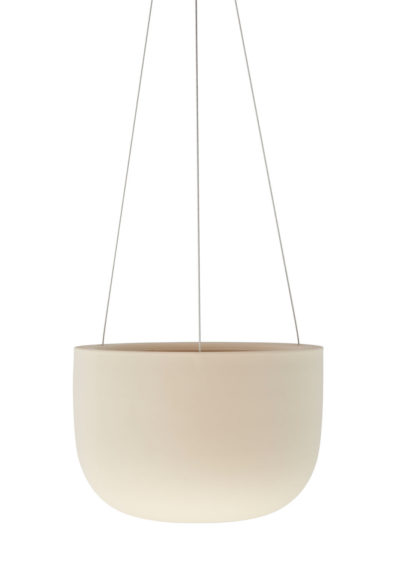 Angus & Celeste Raw Earth Hanging Planter Small Clay