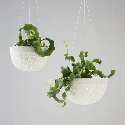 White-Water Bead Hanging Planters